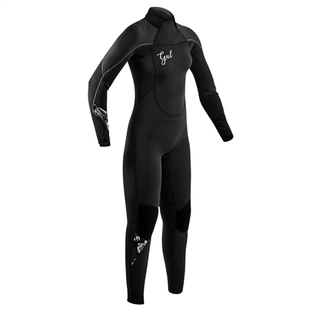 Gul Response 3/2mm Back Zip Wetsuit (2020) - Black  - Click to view a larger image
