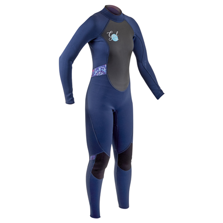 Gul Response 3/2mm Back Zip Wetsuit - Navy & Tiedye  - Click to view a larger image