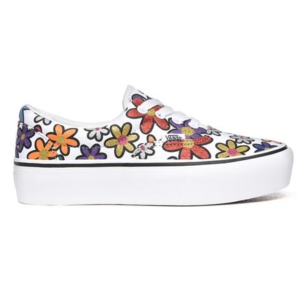 Vans Glitter Daisies Era Platform Shoes