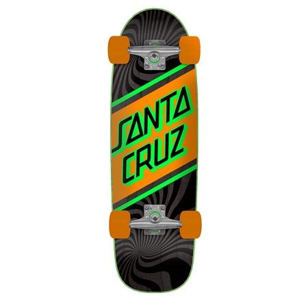 "Santa Cruz Street Skate Street 29.05"" Skateboard - Black & Orange  - Click to view a larger image"