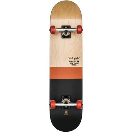 Globe G2 Half Dip 2 Skateboard - Natural & Rust  - Click to view a larger image