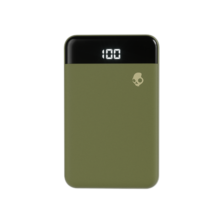 Skullcandy Fat Stash Portable Battery Pack - Olive