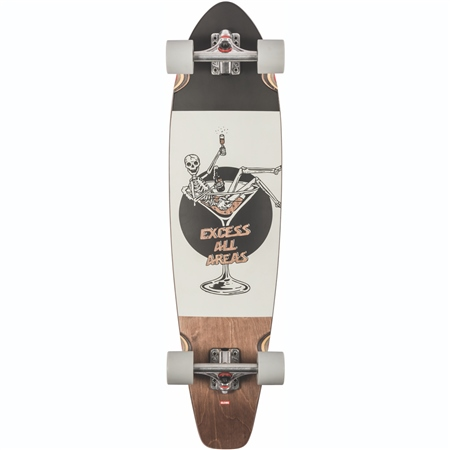 """Globe All-Time 36"""" Skateboard - Excess  - Click to view a larger image"""