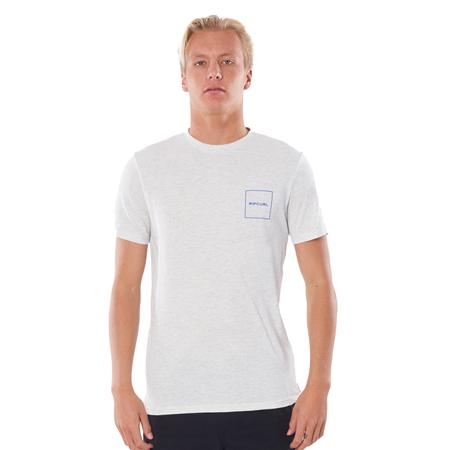 Rip Curl 10m T-Shirt - Snow Marle