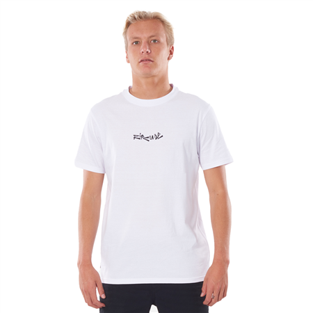 Rip Curl Blazed And Tubed T-Shirt - White