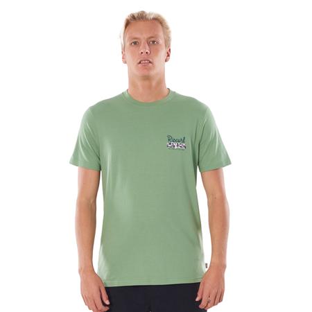 Rip Curl Salt Water Culture Strip T-Shirt - Frost