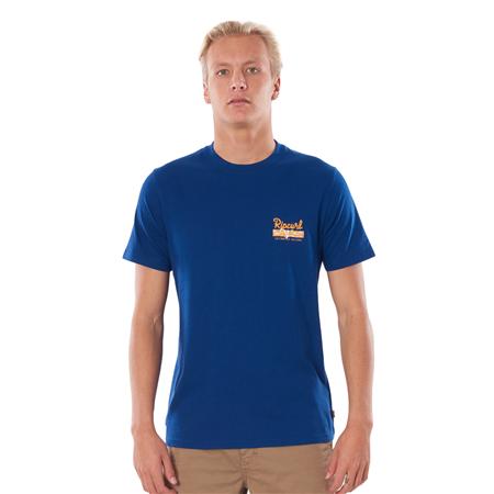 Rip Curl Salt Water Culture Strip T-Shirt - Royal Blue