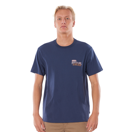Rip Curl Searchers T-Shirt - Indigo Blue