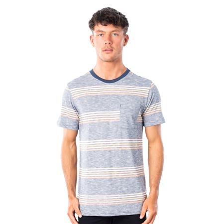 Rip Curl Surf Revival Stripe T-Shirt - Navy