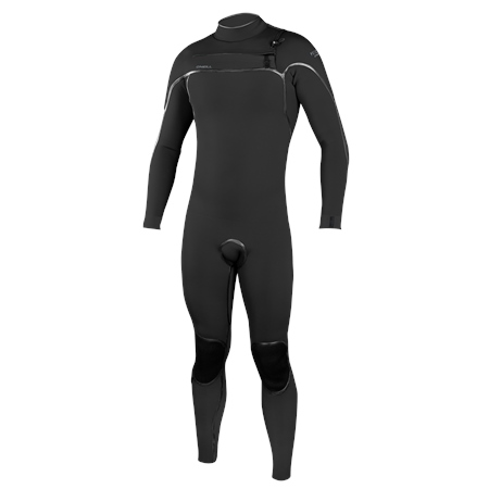 O'Neill Psycho One 5/4mm Chest Zip Wetsuit (2020) - Black  - Click to view a larger image