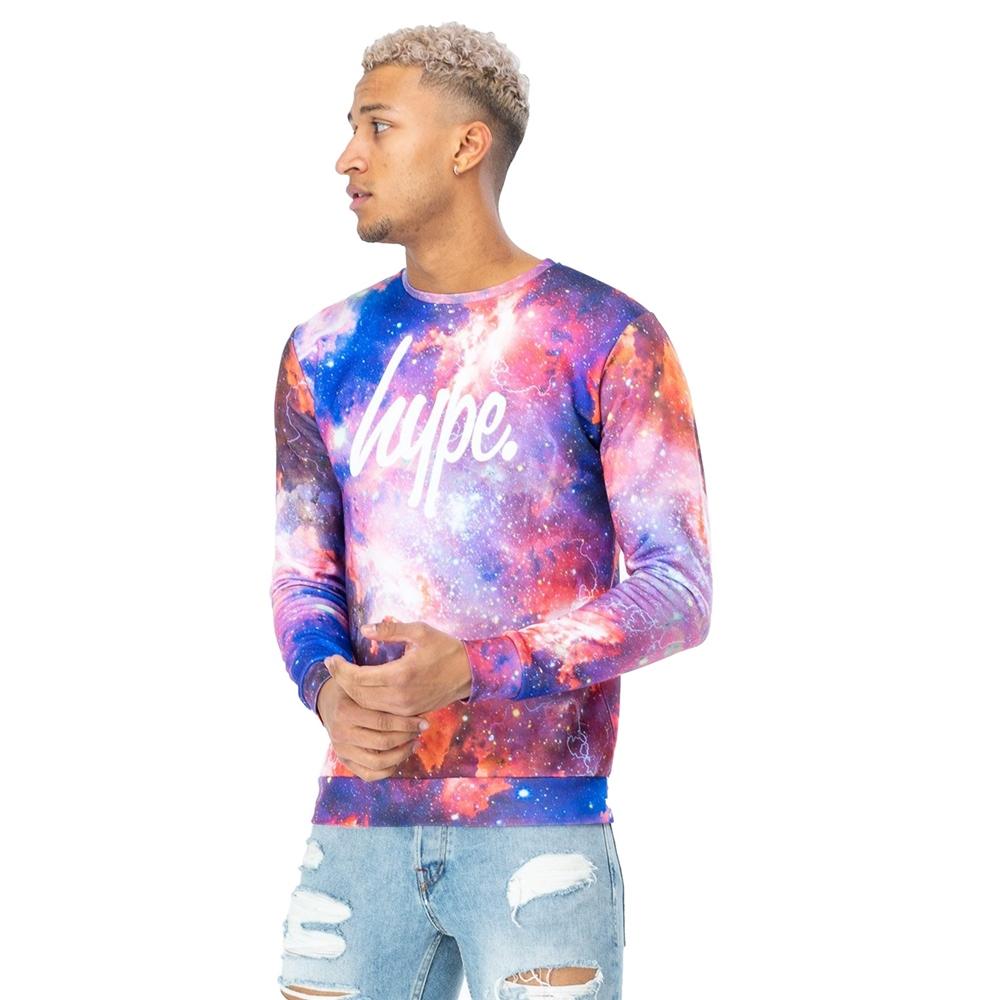 Boys T-Shirts Hype Space Storm T-Shirt Multi